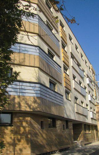 55 unit building